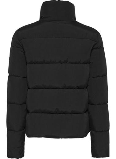 Tommy Hilfiger Kadın Tjw Modern Puffer Jacke Mont DW0DW08843 Siyah